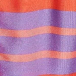 Lewit from Nordstroms Dresses - Lewit from Nordstrom - Stripe Silk Midi Dress
